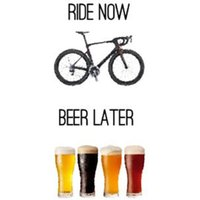 Worry Less Designs Ride Now Beer Later Greeting Card   Gifts
