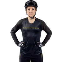 Image of Nukeproof Nirvana Women's Long Sleeve Jersey - Large Black | Jerseys