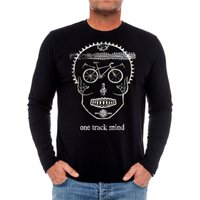 Cycology One Track Mind Long Sleeve T-Shirt Black S   T-Shirts