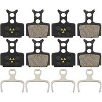 Nukeproof Formula One-R1-RX-Cura Brake Pads 4Pk   Disc Brake Pads