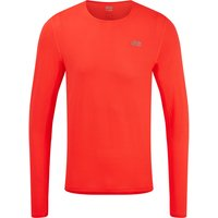 Image of dhb Aeron Long Sleeve Run Top - Extra Extra Large Red Coral