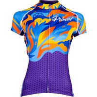 Primal Women's Fierce Evo Jersey Multicolor Flame   Jerseys