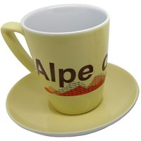 Cycling Souvenirs Alpe d'Huez Latte Cup and Saucer   Gifts