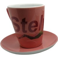 Cycling Souvenirs Stelvio Cappuccino Cup and Saucer   Gifts