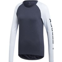 adidas Women's Terrex Trail Cross Long Sleeved Tee   T-Shirts
