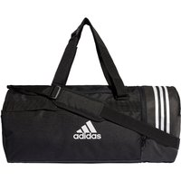 adidas Convertible 3 Stripes Duffle Bag (Medium) Duffle Bags