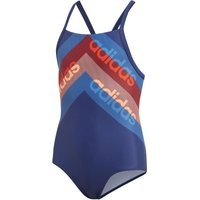 adidas Athly Light Graphic Swimsuit Girls   One Piece Swimsuits