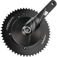 Image of Miche Pistard Air Chainset - 172.5mm/50T Black | Chainsets