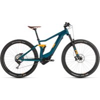 Cube Stereo Hybrid 120 HPC SL 500 Kiox E-Bike (2019) Gr   Electric Mountain Bikes