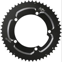 Image of TA Speed 10/11 Speed Chainring - 50T 130BCD Black | Chain Rings