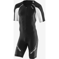 Image of Orca Core Short sleeve Race Suit - XS Black/White | Tri Suits