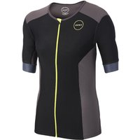Zone3  Men's Aquaflo Plus Tri Top Short Sleeve   Tri Tops