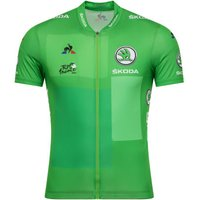 Le Coq Sportif TDF 2019 Replica Points Jersey Green S