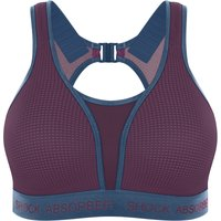 Shock Absorber Ultimate Run Bra - Padded (Cranberry Splash/Winter   Sports Bras