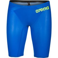 """Image of Arena Powerskin Carbon Air² Jammer - 22"""" Blue-Grey-Yellow   Jammers"""