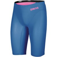 """Image of Arena Mens Powerskin Revo One Jammer - 28"""" Blue/Powder Pink 