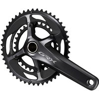 Shimano GRX 810 2x11 Speed Chainset - 172.5mm 48/31T Black | Cranksets