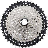 Image of Shimano Deore XT M8100 12 Speed Cassette - 10-45t Silver | Cassettes