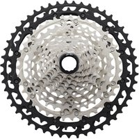 Image of Shimano Deore XT M8100 12 Speed Cassette - 10-51t Silver | Cassettes
