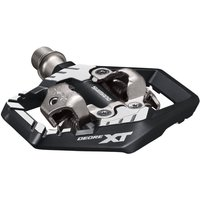 Image of Shimano M8120 Pedal - Pair Black | Clip-in Pedals