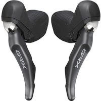 Image of Shimano GRX 810 2x11 Speed Shifter Set - Black | Gear Levers