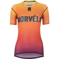 Morvelo Women's Fire Short Sleeve Baselayer   Base Layers