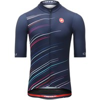 Castelli Speed & Rhythm Squadra Jersey Blue FZ   Jerseys