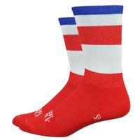 "DeFeet Aireator 6"" Ridge Supply 20% Quadsworth Socks   Socks"