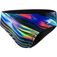 Speedo Echo Focus Placement Digital 7cm Brief   Swimming Briefs