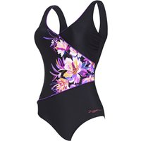 Zoggs Women's Bloomsbury Wrap Front   One Piece Swimsuits