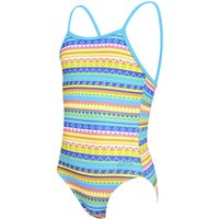 Zoggs Girl's Rainbow Yaroomba Floral   One Piece Swimsuits