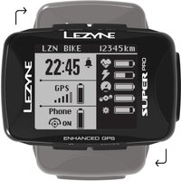 Lezyne Super Pro GPS Cycling Computer   Computers