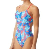 Image of TYR Women's Tortuga Cutoutfit Swimsuit - 30 Blue/Multi