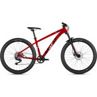 Ghost Asket 4.6 Kids Hardtail Bike (2020) - Small Red - Black