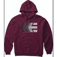 Image of Etnies After Burn Hoodie - S Burgundy | Hoodies