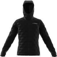 Image of adidas Terrex Light Down Hooded Jacket - 42/44 Black | Jackets