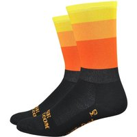 "DeFeet Aireator 6"" Ridge Supply 20% Beast Coast Socks   Socks"