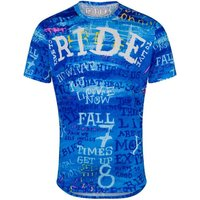 Image of Cycology Ride Mens Technical T-Shirt - L Blue | T-Shirts