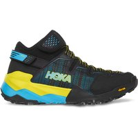 Hoka One One Sky Arkali Trail Shoes - UK 10 Black/Cyan/Citrus