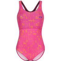 Image of dhb MODA Muscleback Swimsuit - UK 16 Pink/Orange | One Piece Swimsuits