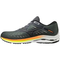 Mizuno Wave Rider 24 Running Shoe - UK 7.5 Castle Rock/Phantom/