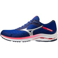 Mizuno Wave Rider 24 Running Shoe - UK 7 Reflex Blue C/Silver