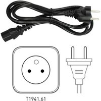 Tacx Power Lead Cable - EU   Power Cables