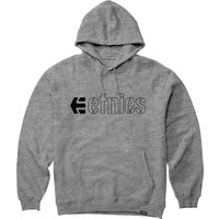 Image of Etnies Ecorp Hoodie - L Heather Grey | Hoodies