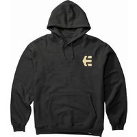 Image of Etnies Label Gradient Hoodie - L Black | Hoodies
