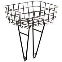 Pelago Front Rasket Bike Rack Basket - Black | Baskets