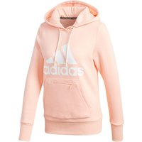 Image of adidas Women's BOS OH HD Top - Extra Small haze coral | Hoodies