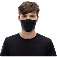 Buff Face Mask (Solid Black) - One Size Solid Black