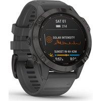 Garmin Fenix 6 Pro Solar GPS Watch - 47mm x 47mm x15.1 mm   Watches