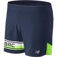 Image of New Balance Printed Impact Run Short 5in - Medium EGL | Shorts